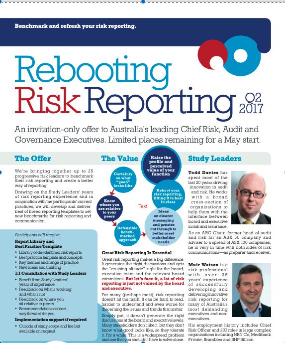Rebooting Risk Reporting